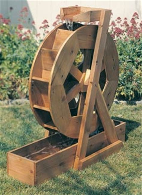 Wood-Water-Wheel-Plans