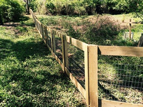 Wood-Welded-Wire-Dog-Fence-Plans