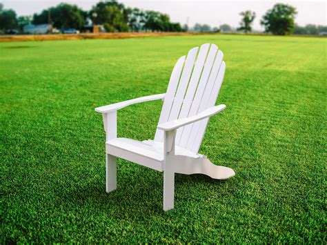 Wood-White-Adirondack-Chairs