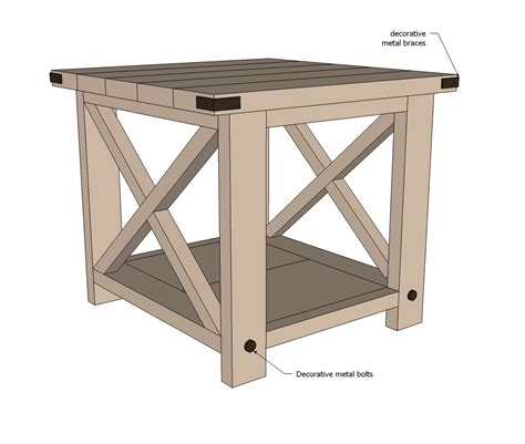 Wood-Worker-Plans-For-End-Tables