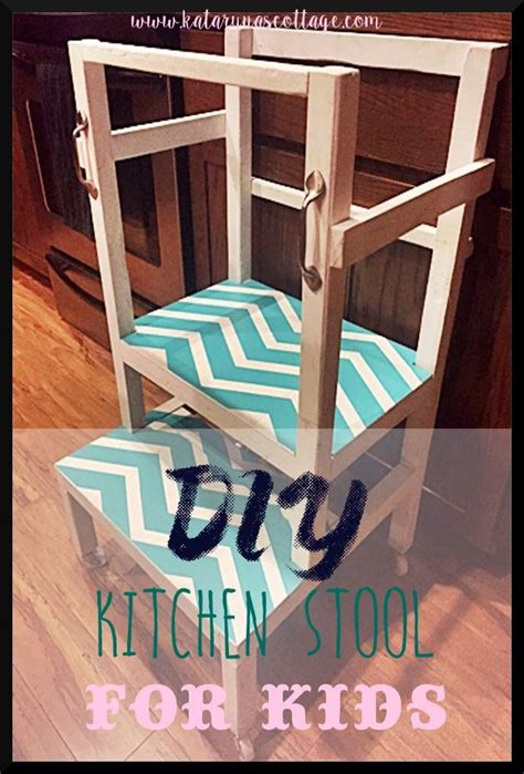 Wood-Working-Plans-For-A-Kitchen-Step-Stool