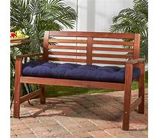 Best Wood bench cushion