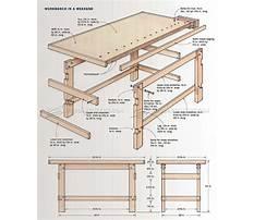 Best Wood bench plan free