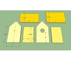 Best Wood bird house template