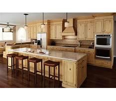 Best Wood cabinet finishes alder