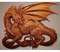Best Wood carving patterns dragons