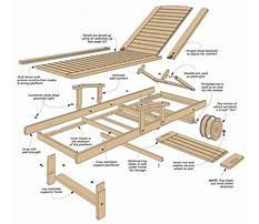 Best Wood chaise lounge plans.aspx