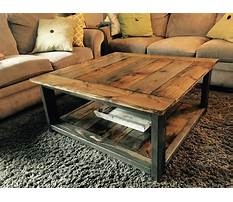 Best Wood coffee table projects