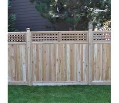 Best Wood fence building kits