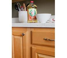 Best Wood kitchen cabinets how to clean