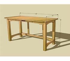Best Wood laptop desk plans