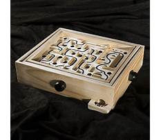 Best Wood marble maze game