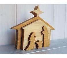 Best Wood nativity pattern