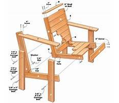Best Wood patio chair plans