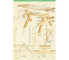 Best Wood picnic table plans pdf