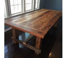Best Wood plank kitchen table.aspx