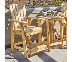 Best Wood plans for outdoor furniture