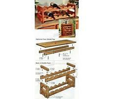 Best Wood plans wine rack
