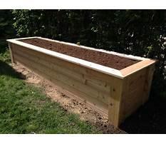 Best Wood planter box diy plans