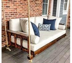 Best Wood porch swings canada