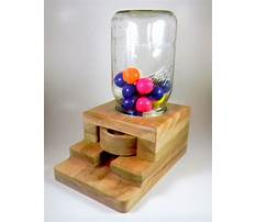 Best Wood projects gumball machine