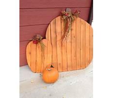 Best Wood pumpkin craft ideas