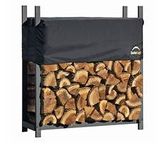 Best Wood storage rack and cover