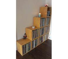 Best Wood storage shelves for record albums