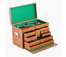 Best Wood tool box parts
