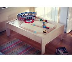 Best Wood train table plans free
