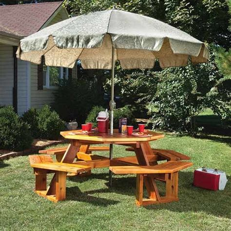 Woodcraft Magazine Octagon Picnic Table Plans
