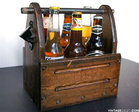 Wooden 6 Pack Beer Tote Plans For Building
