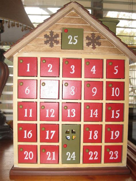 Wooden Advent Calendar Plans