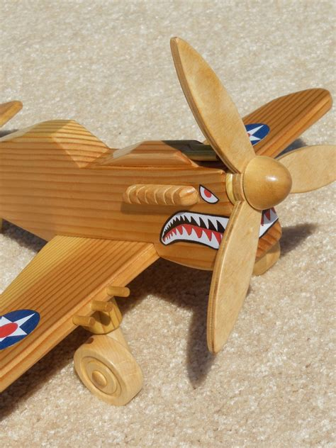 Wooden Airplane Toy Plans