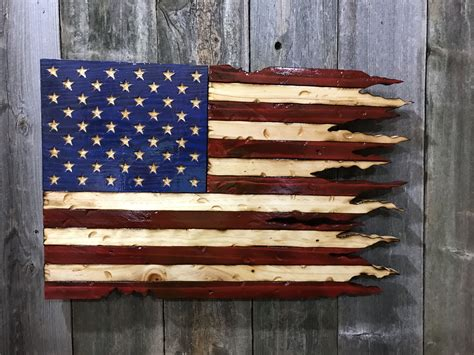 Wooden American Flag Plans