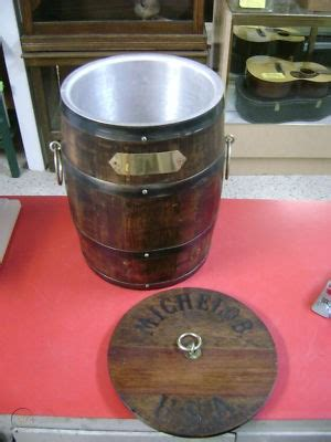 Wooden Barrel Keg Fridge