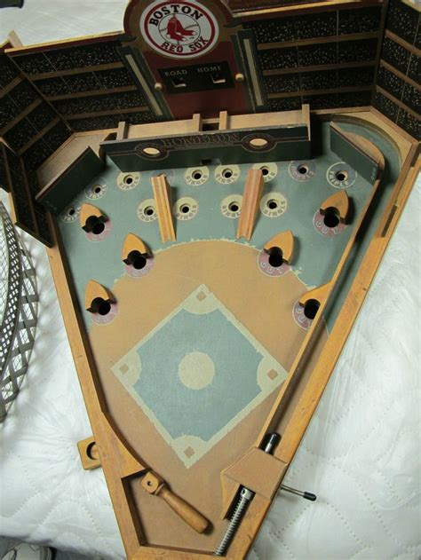 Wooden Baseball Pinball DIY