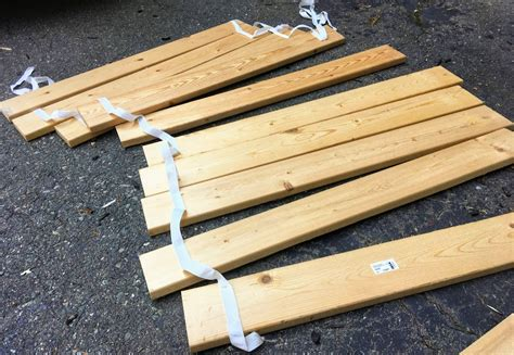 Wooden Bed Slats Diy Projects