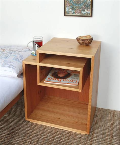 Wooden Bedside Table Diy