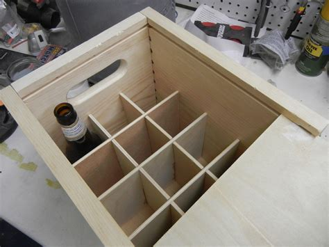 Wooden Beer Box Plans