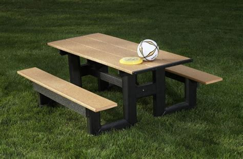 Wooden Bench Picnic Table Combo But Resin Molds