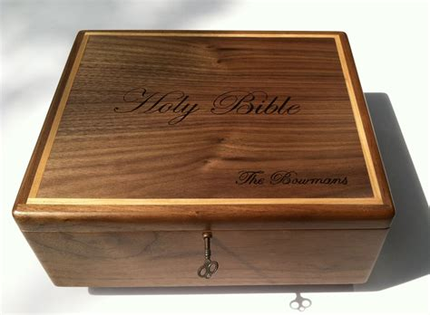 Wooden Bible Box Plans