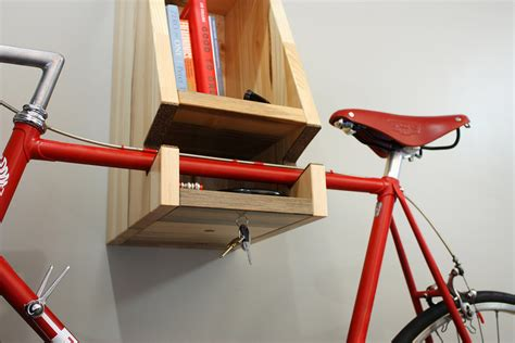 Wooden Bike Rack Design