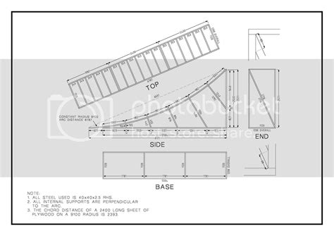 Wooden Bike Ramp Plans