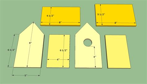 Wooden Birdhouse Plans For Kids
