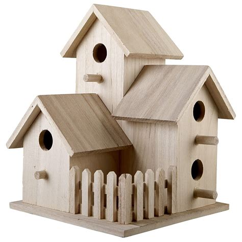 Wooden Birdhouses Michaels