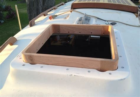Wooden Boat Hatch Design