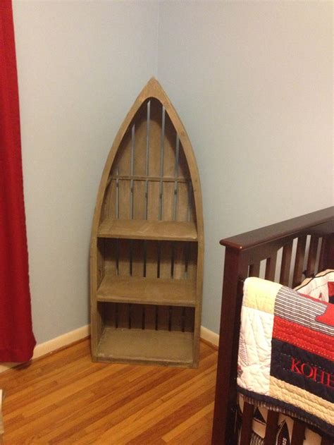 Wooden Boat Shelf From Hobby Lobby