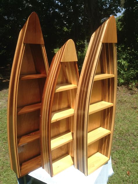 Wooden Boat Shelves Decorative