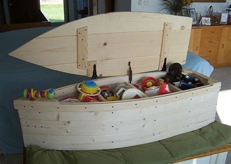 Wooden Boat Toy Box Plans
